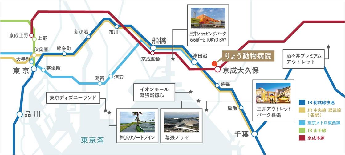 りょうまでの路線図3